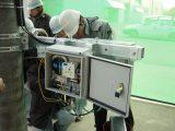電柱取付設置型 自動復帰ブレーカ搭載 アルミ盤