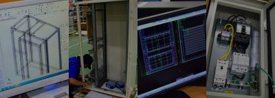 板金加工と電気制御を設計・製作まで一貫内製対応