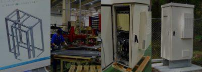 制御盤・通信盤の設計・製作