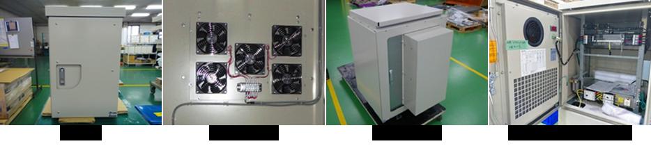 盤内 温度の実測と冷却対策の実証